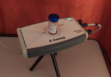 Laser-Befeldung